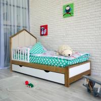 Детская односпальная кровать Олаф
