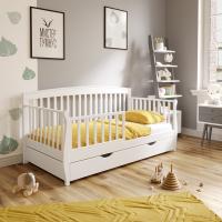 Односпальная детская кровать Пеппи