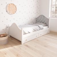 Детская односпальная кровать «Кеми 2» мягкая