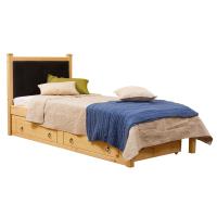 Кровать Миккели 1/1 мягкая с ящиками