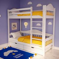 Двухъярусная кровать Ханко