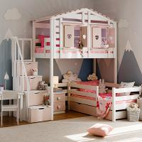 Детская кровать-чердак Бильбао СЛК