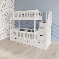 Двухъярусная кровать Нокиа-2 с лестницей-комодом