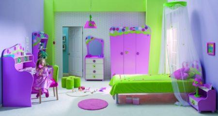 Пример плохого дизайна детской комнаты